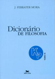 Dicionário de Filosofia - Tomo 3: K-P