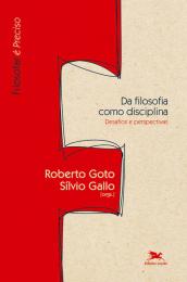 Da filosofia como disciplina - Desafios e perspectivas