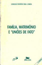 Família, matrimônio e