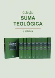 Suma teológica - Coleção 9 volumes - (Bilíngue - Capa Dura)